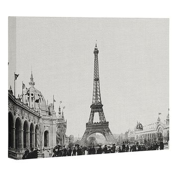 Bianca Green VINTAGE PARIS AROUND 1900 Art Canvas