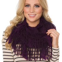 Mercy Infinity Scarf - Purple