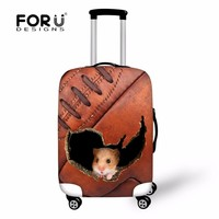 FORUDESIGNS Case Cover Thick Elastic Luggage Protective Cover With Zipper Suit For 18-30 inch Trunk Case Travel Suitcase Covers