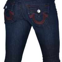 True Religion Women's Limited Edition Sunset Flap Pocket Jeans