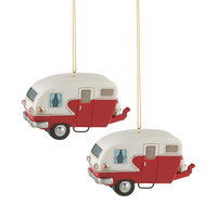 Holiday Highway Ornament - Set of 2