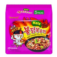 5-Pack Samyang Mala Spicy Chicken Ramen, 4.7 oz. x 5