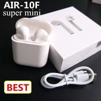 AIR-F10 mini Bluetooth Headset double ear Wireles Earbuds
