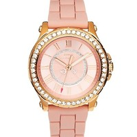 Pedigree Gold and Pink Jelly Watch