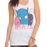 All Time Low Triple Ghost Girls Tank Top