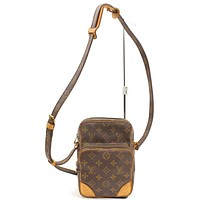 Tagre™ Authentic Louis Vuitton Shoulder Bag Amazon M45236 Browns Monogram 16822