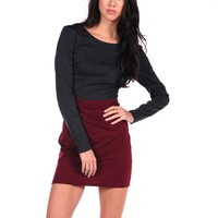Lucca Couture LC Cutout Dress