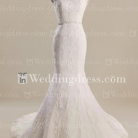Fit-n-Flare Wedding Gown
