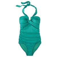 Merona® Women's Halter 1-Piece Swimsuit -Assorted Color