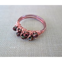 Copper Cluster Ring