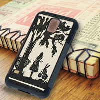 cheshire were all mad here cheshire cat Alice Alice and Wonderland   For Samsung Galaxy S6 Cases   Free Shipping   AH0232