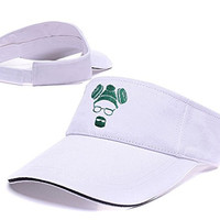 DEBANG Breaking Bad Heisenberg Logo Sun Cap Embroidery Golf Visor Hat