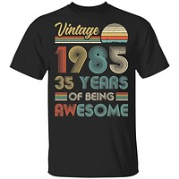 Vintage 1985 35th Birthday Gift 35 Years Old