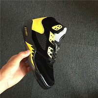 Air Jordan 5 Retro Oregon Black Yellow