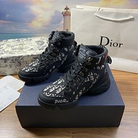 dior fashion men womens casual running sport shoes sneakers slipper sandals high heels shoes 382