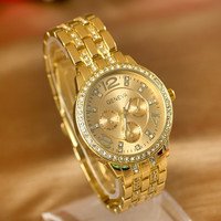 Hot Vintage Fashion Quartz Classic Watch Round Ladies Women Men wristwatch On Sales = 4673103556