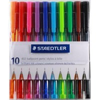 10 Color Ballpoint Pen Set [Staedtler]