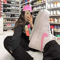 NIKE Air force 1 men's and women's high-top basketball shoes sneakers