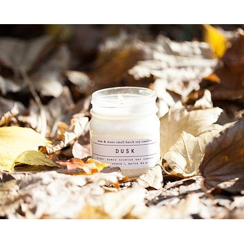 Wax and Wane Candles - Dusk Candle