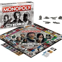 USAopoly Amc The Walking Dead Monopoly Board Game 0252 4863