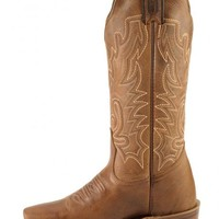 Boulet Lady Rancher Cowgirl Boots - Narrow Square Toe - Sheplers