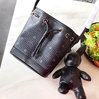 MCM 2019 new women's simple and stylish wild two-piece Black