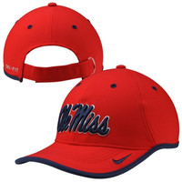 Ole Miss Rebels Nike 2014 Coaches Performance Adjustable Hat – Cardinal