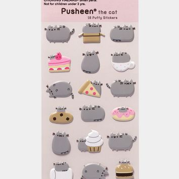 Pusheen Puffy Bubble sticker sheet