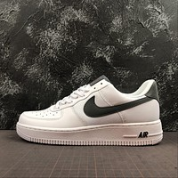 Nike Air Force 1 AF1 Low White Sleek Grey Accents Shoes