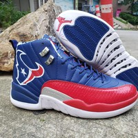 Air Jordan 12 Red/Navy Champion Bulls