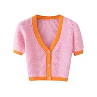 The Wonders Cropped Cardigan