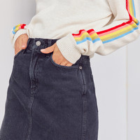 AGOLDE Kat Denim Pencil Mini Skirt | Urban Outfitters