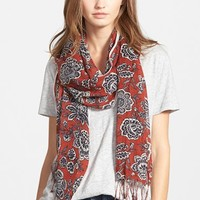 Women's Madewell Floral Print Scarf