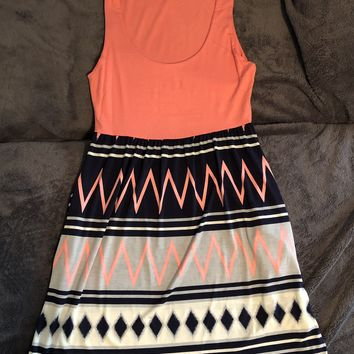 Easy A Abstract Dress