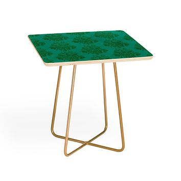 Morgan Kendall kelly green lace Side Table