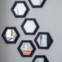 ModCloth Minimal Geometric Makeover Wall Mirror Set