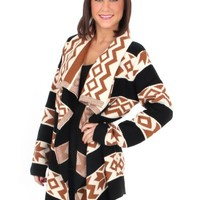 Holiday Road Aztec Cardigan | Monday Dress Boutique