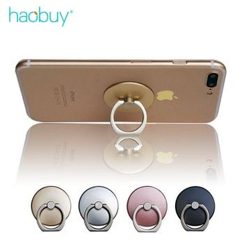 Universal 360 Degree Finger Ring Mobile Phone Grip Stand Holder For iPhone and Samsung