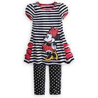 Children Clothes 2014 Summer Girls Striped Short Sleeve Dress +Dot Leggings 2 pc set. BaBy Sets baby Clothing.