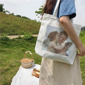 Vintage Angel Tote Bag