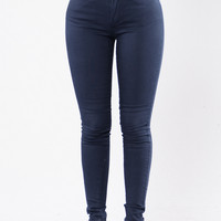 Rock Me Roll Me Jeans - Navy