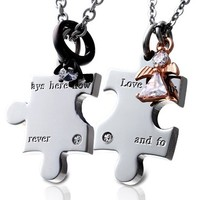 Love is always here now and forever Necklace