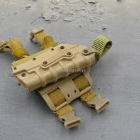 Agency Globe Response Staff GRS Asset FDE Model 3280 Tactical Drop Leg Holster