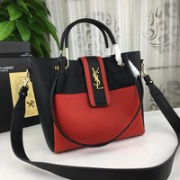 2018 YSL Women Shopping Leather Chain Satchel Shoulder Bag Satchel Crossbody