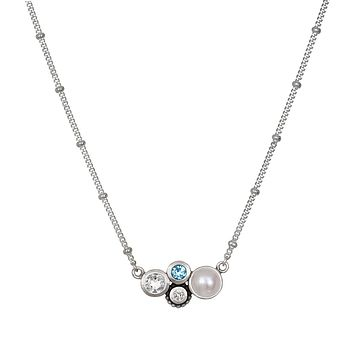 In Unity Silver Necklace