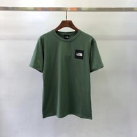 Green THE NORTH FACE T Shirt TEE TOP