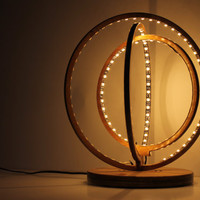 lamp desk sol lamp low voltage led GALILEO Italian Desing table wooden