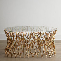 """""""Golden Branches"""" Coffee Table - Horchow"""
