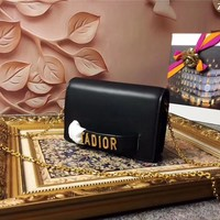 DIOR WOMEN'S LEATHER JADIOR WOC CHAIN SHOULDER BAG