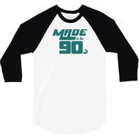 Made In The 90s 3/4 Sleeve Shirt